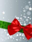 Christmas bow Royalty Free Stock Photos