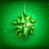 Christmas bow glossy-01 Royalty Free Stock Photos