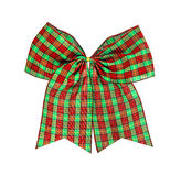 Christmas bow isolated on white , clipping path Stock Photos