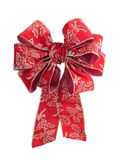 Christmas bow Stock Photos