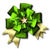 Christmas bow & ribbons Royalty Free Stock Image