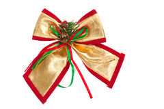Christmas bow Royalty Free Stock Photo