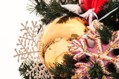Christmas  bowl decorations Stock Photography
