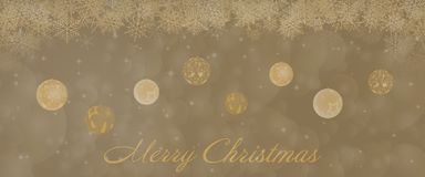 Christmas time - bowls Stock Photography