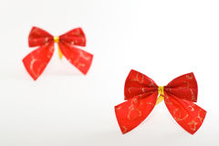Christmas bows Royalty Free Stock Photography