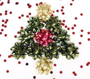 Christmas bows Stock Image