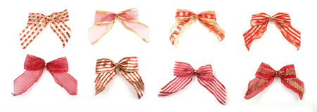 Christmas bows Royalty Free Stock Image