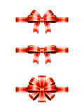 Christmas Bows royalty free illustration