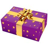 Christmas Box 08. High detailed vector illustration Stock Images