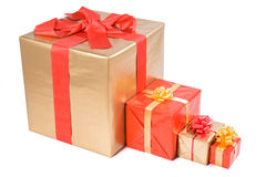 Christmas box Stock Images