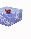 Christmas box Stock Photography