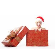 A christmas box Royalty Free Stock Photo