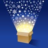 Christmas Box Stock Photography