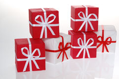Christmas box Royalty Free Stock Photo