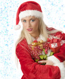 The christmas box Stock Images