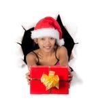 Christmas box stock photos