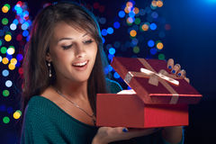 Christmas box Royalty Free Stock Photos