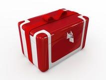 Christmas box present Royalty Free Stock Image