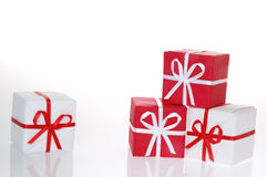 Christmas boxes 2 Royalty Free Stock Image