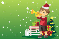 Christmas boy Royalty Free Stock Photos