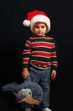 Christmas boy Royalty Free Stock Photography