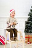 Christmas boy Royalty Free Stock Images