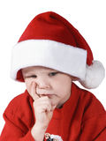 Christmas boy royalty free stock photo
