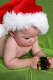 Christmas Boy Stock Images