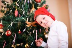 Christmas boy portrait Stock Images