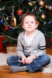 Christmas boy portrait Stock Photography