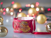 Christmas bracelet Stock Photography