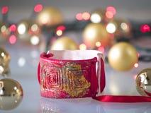 Christmas bracelet Stock Photography