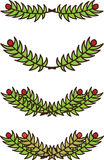 Christmas branch Stock Images