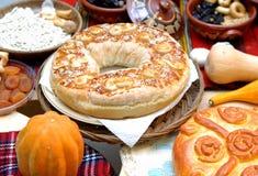 Christmas bread royalty free stock image