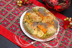 Christmas bread Stock Images