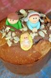 Christmas bread Stock Photos