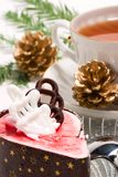 Christmas breakfast Royalty Free Stock Images