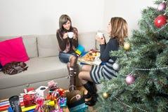 Christmas Breakfast Royalty Free Stock Photos