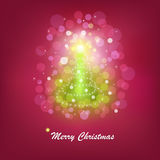 Christmas Bright Tree. Vector Stock Images