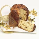 Christmas brioche. A Christmas brioche, italian style bread Royalty Free Stock Photos