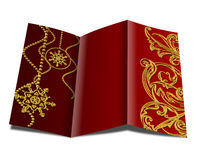 Christmas brochure Royalty Free Stock Images