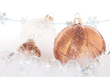 Christmas Bronze and Copper Stock Photo