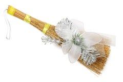 Christmas broom Royalty Free Stock Photography