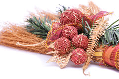 Christmas broom, ornament Stock Photography