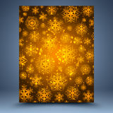 Christmas brown abstract  background Royalty Free Stock Images