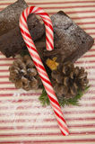 Christmas brownie treats Royalty Free Stock Images