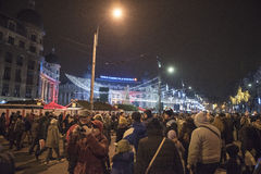 Christmas in Bucharest(8) Royalty Free Stock Images