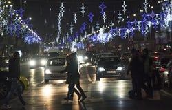 Christmas in Bucharest(1) Stock Photo
