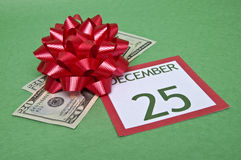 Christmas on a Budget Royalty Free Stock Image