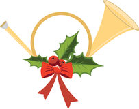 Christmas Bugle Stock Image